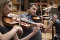 Fotky z nahrávania orchestra – CD Nezabudnuteľné lásky